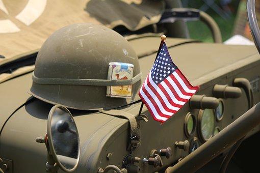 Helmet, Flag, Patriotism, About Us Icon, America