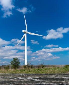 Pinwheel, Energy, Wind Power, Sky, Blue, Current