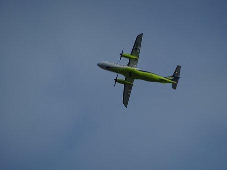 Aircraft, Propeller, Propeller Plane, Fog, Fly, Flight