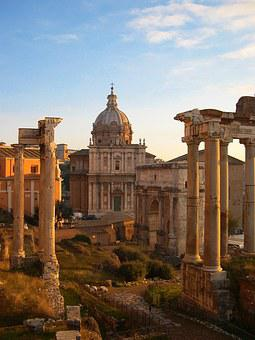 The Forum, Rome, Archaeological, Site, Roman, Antiquity