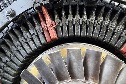 Portugal, Lisbon, Electricity, Museum, Generator, Rotor