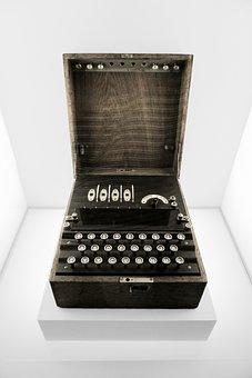 Enigma, Rotor-key Machine, Machine, World War Ii