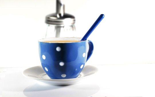 Tee, Sugar, Spoon, Drink, Break, Cup, Sweet
