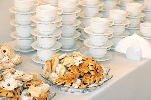 Cakes, Treat, Teacup, Catering, Kitchen Utensils
