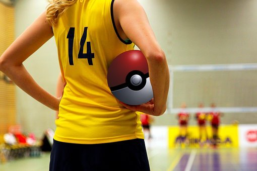 Pokémon Go, Pokemon, Volleyball, Poke, Ball, Player