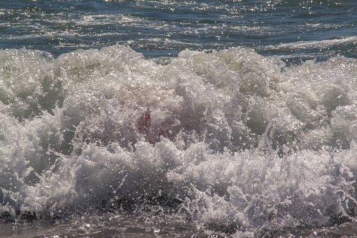 Waves, Splash, Water, Seaside, Seascape, Waves Crashing