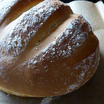 Bread, Dough, Crispy, Mealy, Flour, Yeast Bread