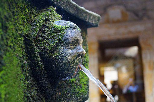 Fountain, Barcelona, Water, Architecture
