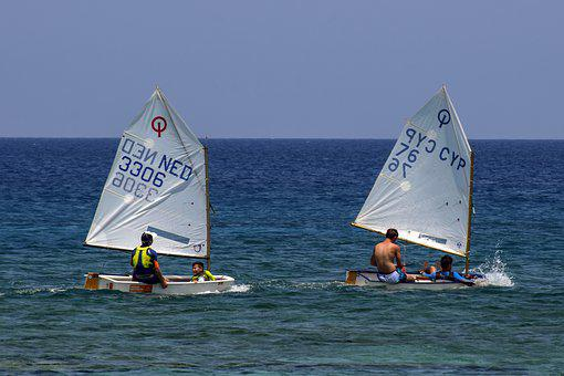 Boat, Sailing, Sail, Sea, Summer, Sailboat, Leisure