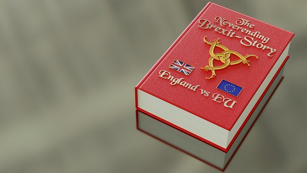 Book, Brexit, England, Eu, United Kingdom, Europe