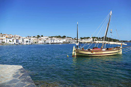 Spain, Costa Brava, Cadaqués, Mediterranean, Tourism