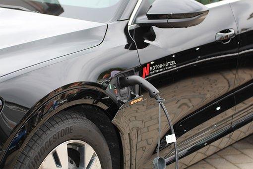 Electric, E Car, Electric Car, Petrol Stations, Current