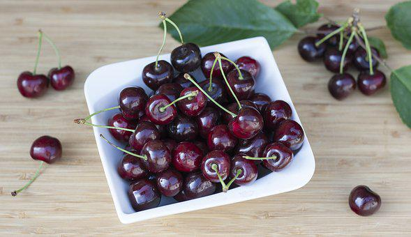 Cherry Flavor, Cherries, Bio, Fresh, Fruit, Mature