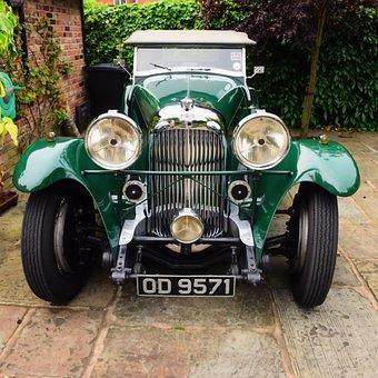 Aston Martin, Lagonda, Vintage, Car, Old, Classic