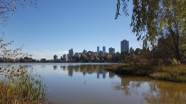 Vancouver, Canada, Water, Landscape, Travel, Skyline