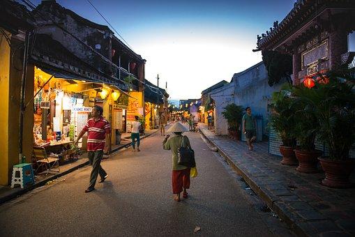 Hoian, Vietnam, Unesco, Travel, Night, Lighting