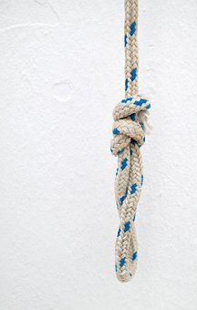 Knot, Rope, Loop, Knotted, Cord, Strong, Symbol, Simple