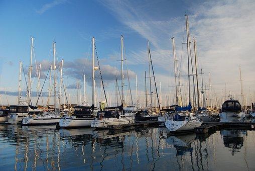 Sea, Yacht, Boat, Water, Sailing, Nautical, Marine