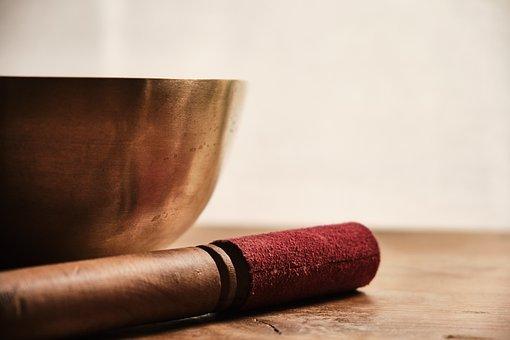Singing Bowl, Meditation, Rest, Clapper, Sound, Peace