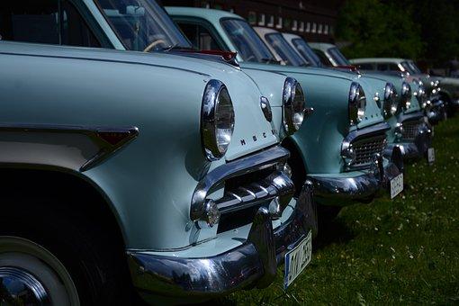 Moskvich, Auto, Nostalgia, Historically, Veteran, Old