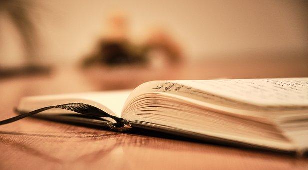 Book, Diary, Tiefenschärfe, Write, Rest, Notebook