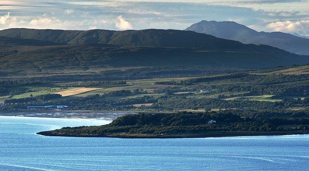 River Clyde, Greenock, Ardmore Point, Scotland
