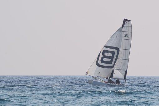 Boat, Sailing, Sail, Sea, Summer, Sailboat, Leisure