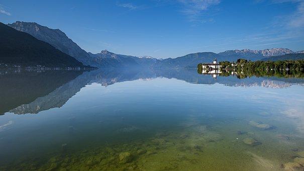 Gmunden, Salzkammergut, Landscape, Mountains, Alpine