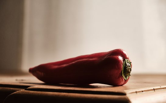 Paprika, Still Life, Close Up, Vegetables, Nutrition