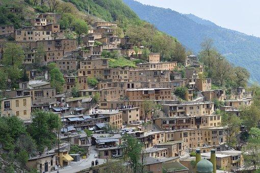 Masooleh, Masuleh, Iran, Cityscape, Travel, Gilan
