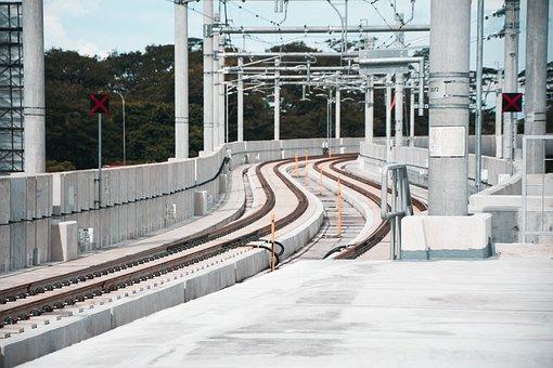 Railway, City, Jakarta, Train, Urban, Metro, Subway
