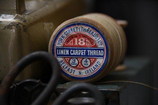Sewing, Thread, Scissor, Vintage, Ireland