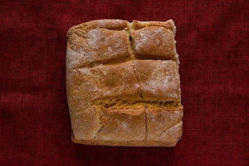 Bread, White, Flour, Food, Bakery, Eat, Fresh, Baked