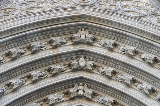 Barcelona, Cathedral, Spain, Architecture, Church