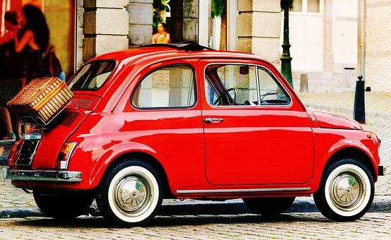 Fiat, Fiat 500, Auto, Oldtimer, Vehicle, Classic, Italy