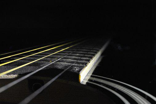 Guitar, Close Up, Music, Musical Instrument