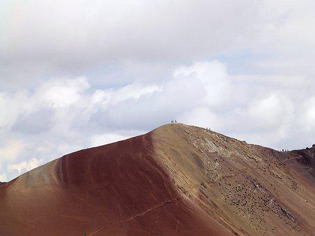 Top, Conquerors, Cordillera De Vilcanota, Rainbow
