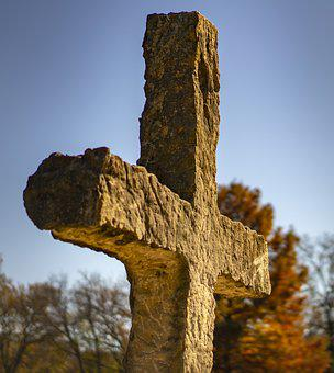 Cross, Religion, Stone, Sky, Stones, God, Christian