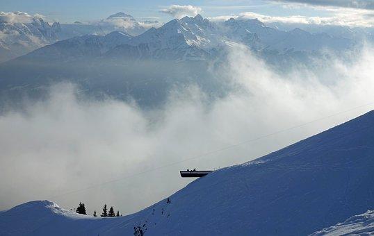 Snow, Winter, Cold, Mountains, Landscape, Nature