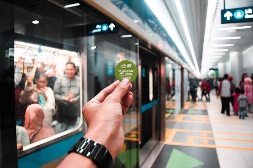 Bokeh, Station, Mrt, Jakarta, Train, Blurry, Indonesia