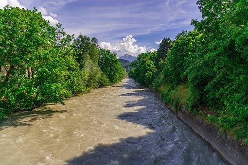 River, Blue Sky, Sky, Nature, Blue, Water, Landscape