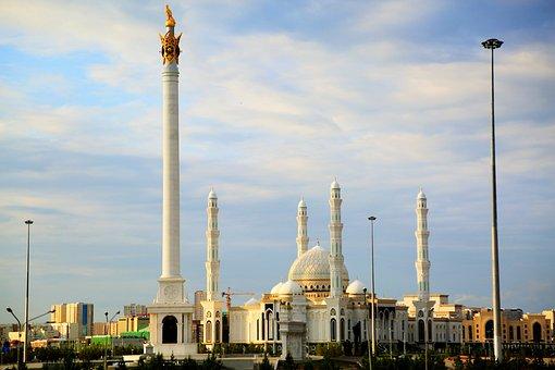 Cami, Minaret, Dome, Religion, Islam, Sky, Architecture