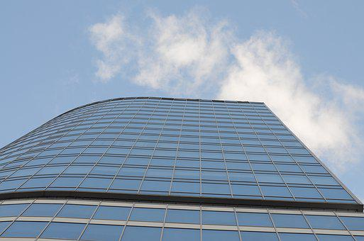 Building, Glass, Height, Skyscraper, Sky, Office