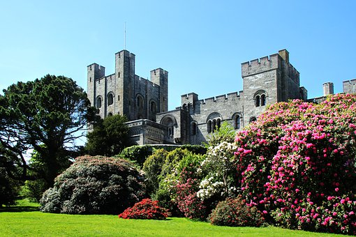 Penrhyn Castle, Wales, Castle, Welsh, Uk, Historical