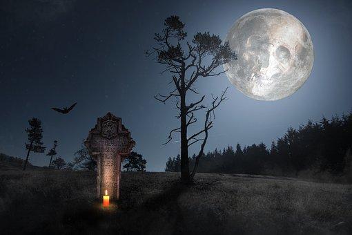 Horror, Skull And Crossbones, Weird, Skull, Death