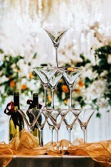 Wine, Glass, Wedding, Party, Drink, Celebration