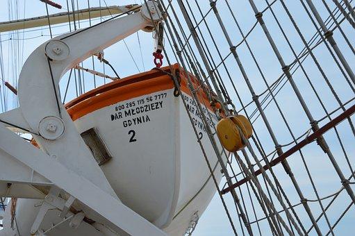 Boat, Ship, Sailboat, Sailing, Mast, Equipment