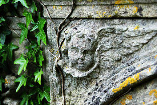 Angel, Death, Cemetery, Mourning, Consolation, Stone