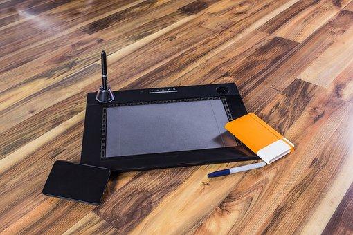Graphics Tablet, Photoshop, Design, Digital
