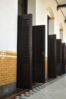 Doors, Architecture, Old, Ancient, Wooden, Doorway